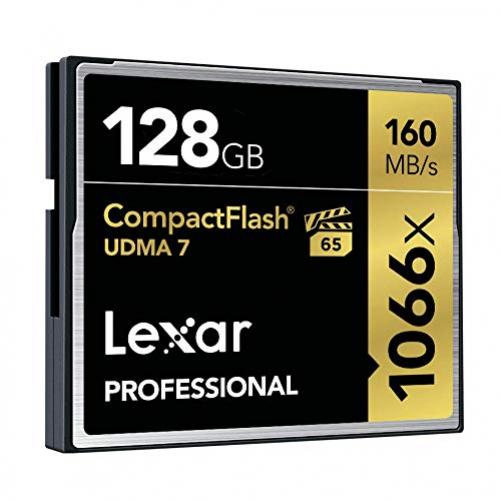 Lexar Professional 128GB 1066x Speed 160MB/s Compact Flash Speicherkarte