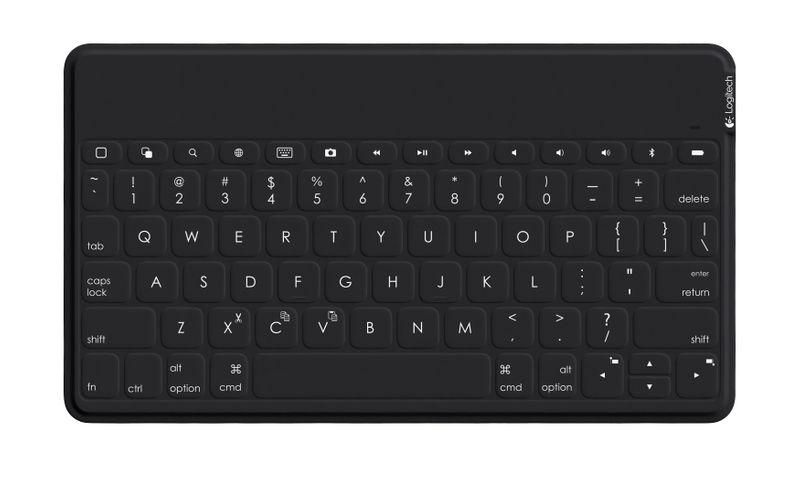 logitech Keys-To-Go Tastatur für Mobilgeräte Raum Schwarz Bluetooth (NORDIC Layout - QWERTY)