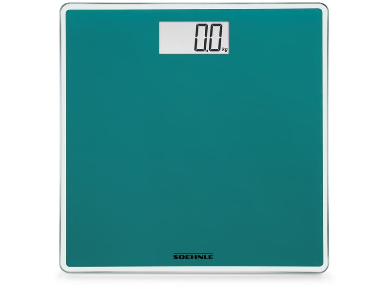 Soehnle Style Sense Compact 200 electronic bathroom scales rectangle green