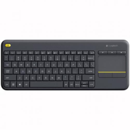 logitech K400 Plus Wireless Keyboard black (ESP Layout - QWERTY)