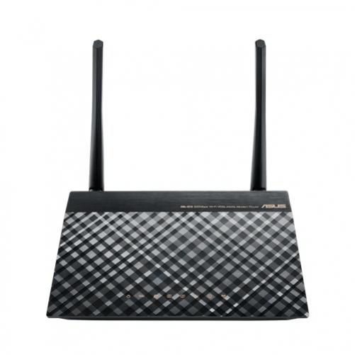 ASUS DSL-N16 WLAN-Router Einzelband (2,4GHz) Schnelles Ethernet Schwarz