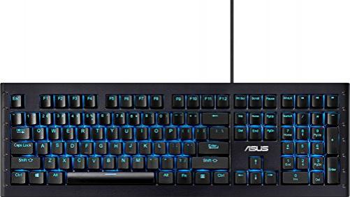 ASUS GK1100 Tastatur USB Schwarz (DEU Layout - QWERTZ)
