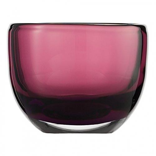 Waxinelight holder violet H 74mm Zwiesel 1872 114515 Living Lights