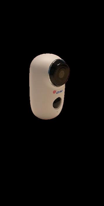 Ctronics WLAN Battery Security Camera Outdoor, Wireless 1080P Battery IP Camera Outdoor with PIR Motion Detector, Push Alarms, 2-Way Audio, 20m IR Night Vision, IP65 Waterproof