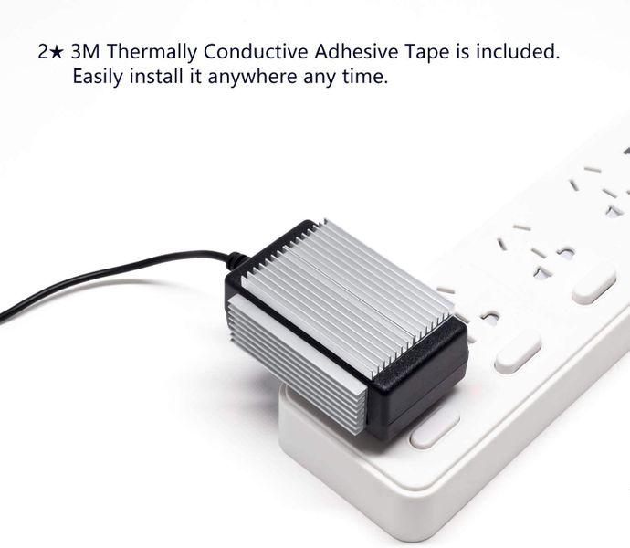 Akineko Kühlkörper-Kühlset, Aluminium Silber Silber 66x22mm 1 Pack