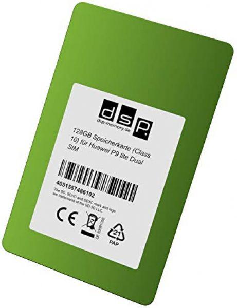 DSP Memory 128GB Speicherkarte (Class 10) für Huawei P9 lite Dual SIM