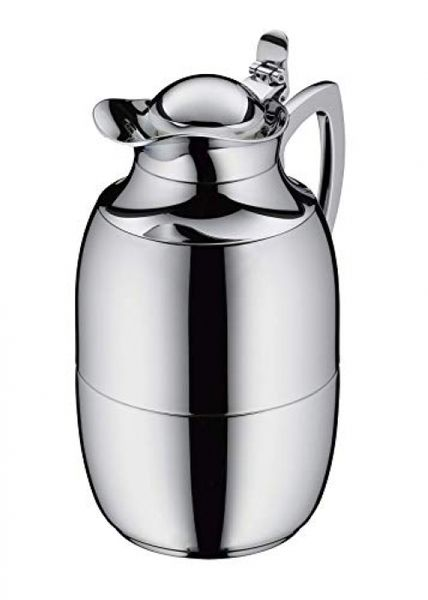 alfi Jewel vacuum jug, polished stainless steel 1.5 l, hot for 12 hours, cold for 24 hours