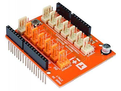 Arduino Mini Mikrocontroller Board, mit Leitungsverteilern
