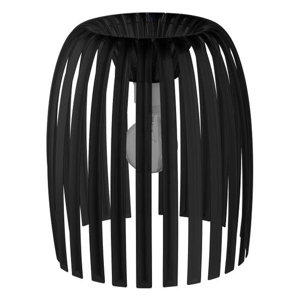koziol Lampenschirm, Thermoplastischer Kunststoff, cosmos black