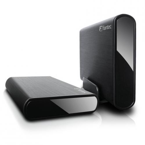 Fantec Geh.  Fantec DB-ALU3e-6G Sata3 6G 8.9cm USB3.0 Alu schwarz