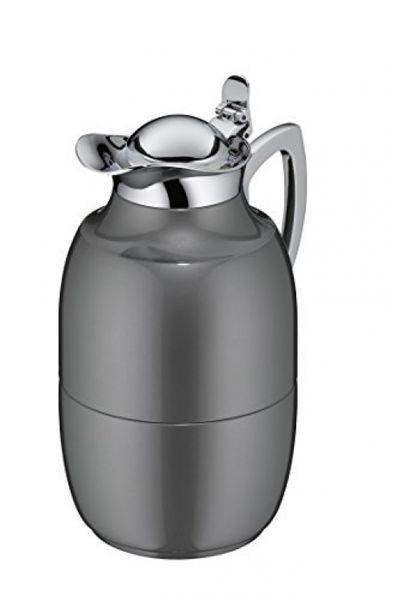 Alfi 0570.218.100 vacuum jug jewel metal painted, 1 L, space grey