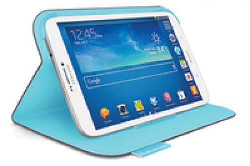 Logitech Folio Protective Case for Samsung Galaxy Tab 3 8.0 Dark Clay Grey