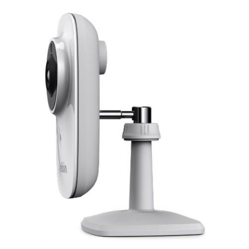 Belkin f7d7601as Camera IP WiFi NetCam mit integriertem Mikrofon, Weitwinkel, Nachtsicht, Registrierung, Email-Benachrichtigungen, kompatibel Tablet Touchscreen und Smartphone iOS und Android weiß