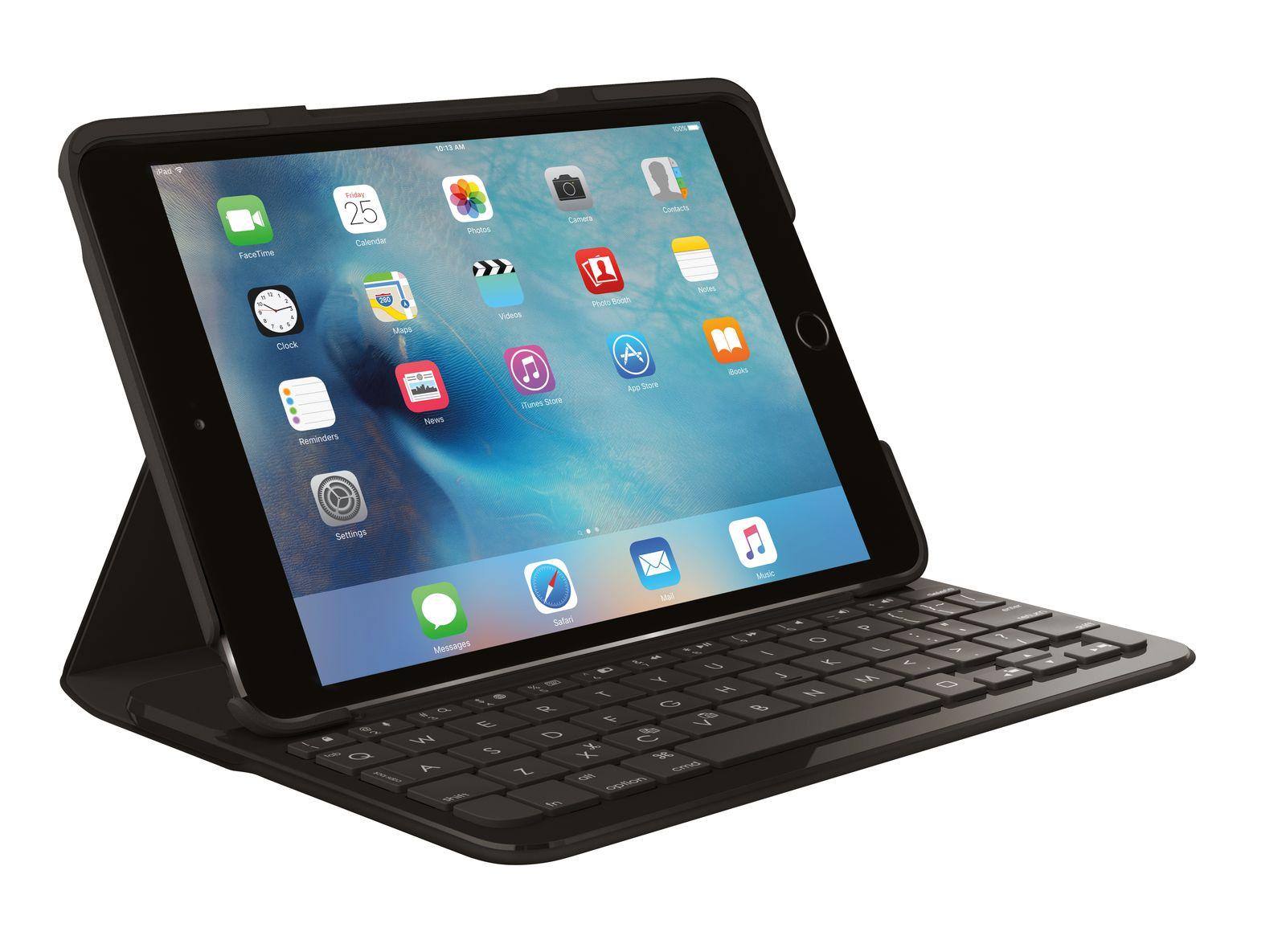 logitech Focus Tastatur für Mobilgeräte Schwarz Bluetooth (CHE Layout - QWERTZ)