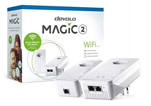 Devolo 8386 PowerLine Router Weiß