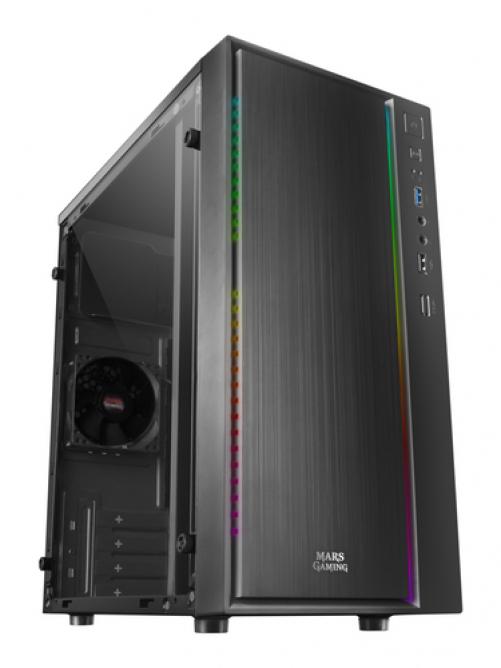 Mars Gaming MCM Computer Case Mini Tower Black