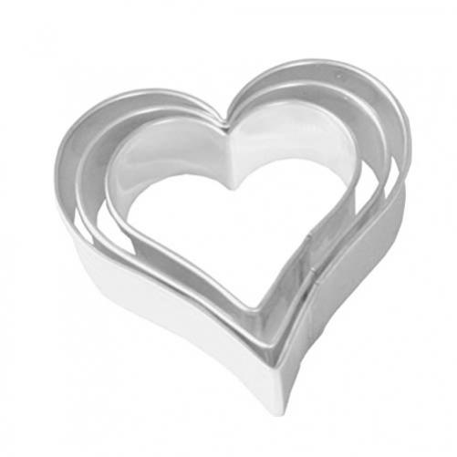 Birkmann cookie cutter, steel, grey, 4 x 4 x 5 cm