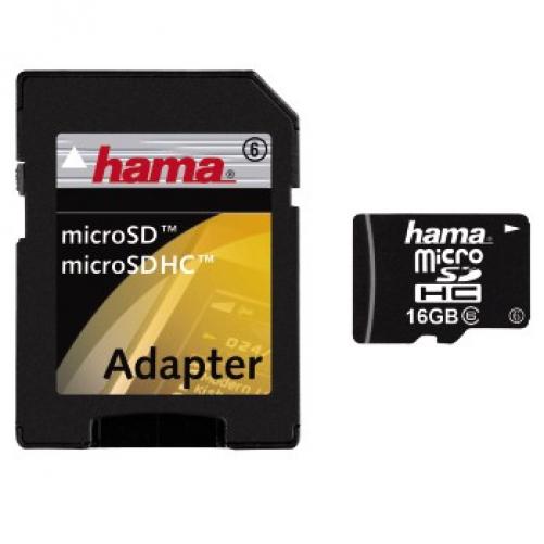 Hama 16GB microSDHC Speicherkarte
