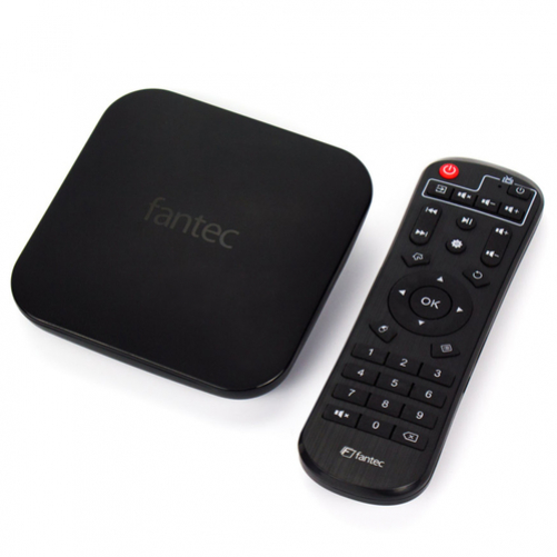 Fantec 4KS7000 Digital Media Player 64 GB 4K Ultra HD 3840 x 2160 pixels WLAN black