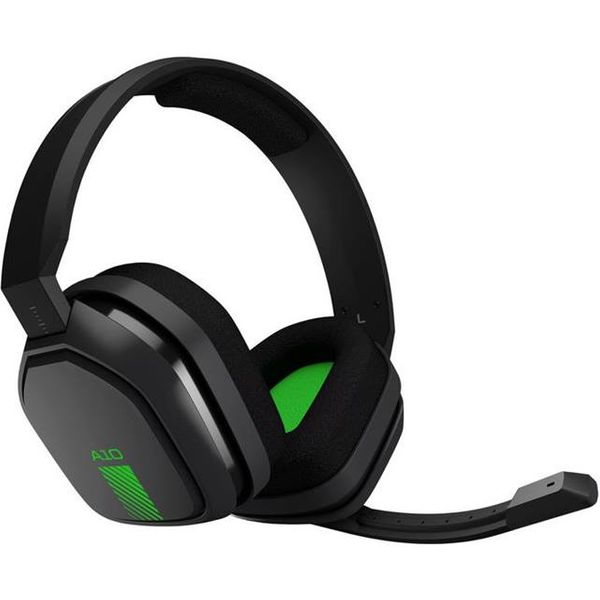 Astro Gaming A10 headset - gray / green