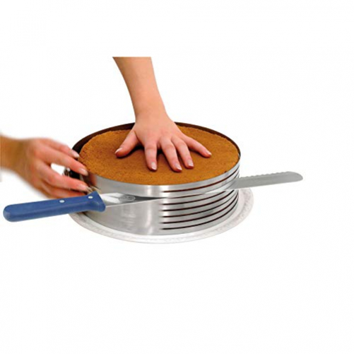 Dr. Oetker cake cutting aid with cake knife Kitchen gadgets