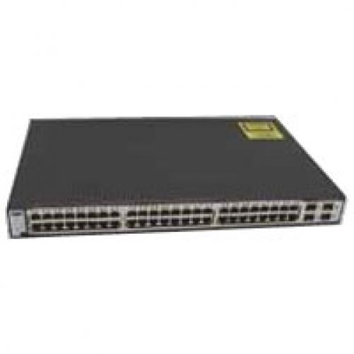 Cisco systems Cisco Systems Catalyst 3750G-48TS-S Switch Giga 48 x RJ45 10 / 100 / 1000 + 4 x MiniGBIC 19