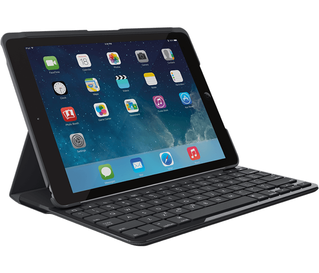 logitech CANVAS Keyboard-Case iPad Air (DEU Layout - QWERTZ)