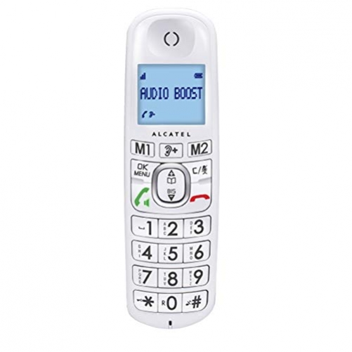 ALCATEL XL385 Voice Trio DECT-Telefon Weiu00df Anrufer-Identifikation - Plug-Type C (EU)