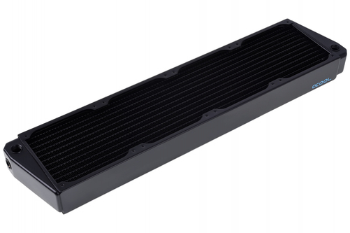 Alphacool NexXxoS XT45 Full Copper X-Flow Universal Radiator 12 cm Black