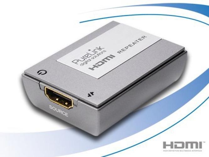 PURELINK HE0020-1 HDMI HDMI Silber Kabelschnittstellen-/adapter