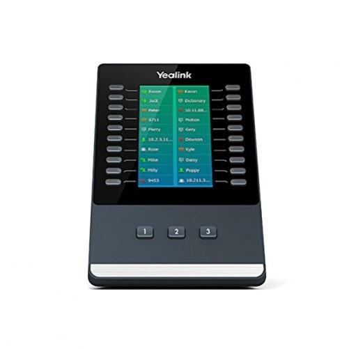 YEALINK EXP50 IP-Add-On-Modul 23 Tasten Schwarz, Grau