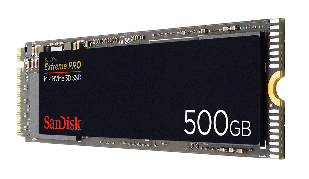 Sandisk ExtremePRO M.2 500 GB PCI Express 3.0 NVMe