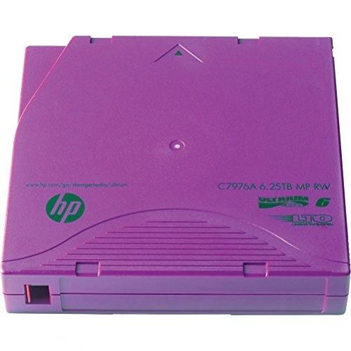 HP C7976AN LTO-6Ultrium MP Datenband leer (6250 GB, 400Mbit/s)