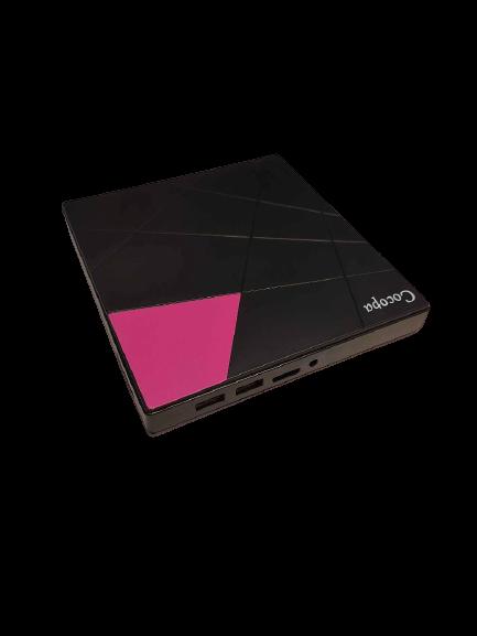Cocopa Externes CD DVD Laufwerk, Cocopa Tragbarer Typ-C USB 3.0 Slim CD DVD RW Brenner SD Karte Reader Super Laufwerk Hohe Datenübertragung für Laptop, Desktop Mac, iOS, Windows 10/8/7 / XP/Linux