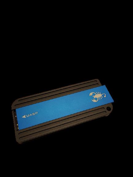 GLOTRENDS Scorpio NVME M.2 USB C External Enclosure Case Box for NVME M.2 SSD (Key M)