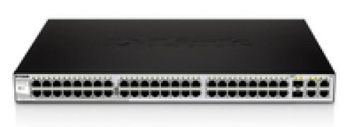D-link DES-1210-08P 8-Port 10/100 PoE Web Smart-III Switch