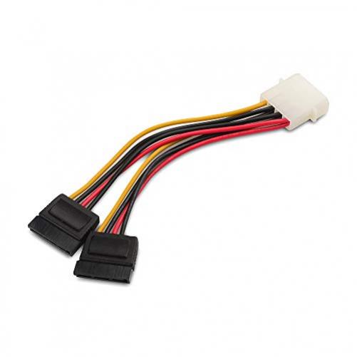 Cable Matters 3er-Pack 4 Pin Molex zu Dual Sata StromKabel Adapter- 1,8m