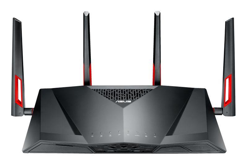 ASUS DSL-AC88U WLAN Router Dual-Band (2.4 GHz/5 GHz) Gigabit Ethernet Black