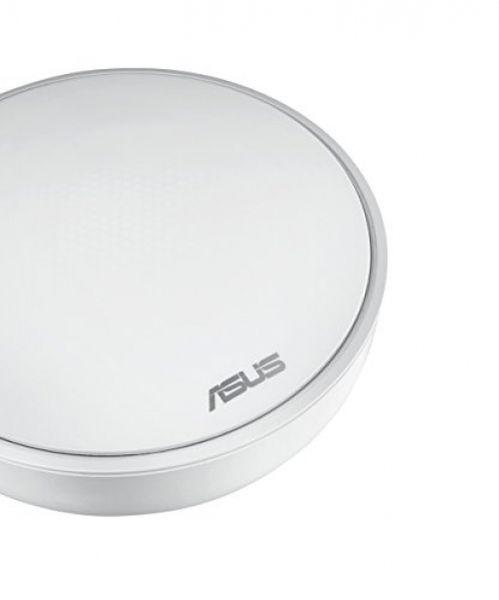 ASUS LYRA WLAN Mesh System, 867 Mbit/s Weiß, Tri-Band Set, 2er-Pack (90IG04C0-BO0B30)