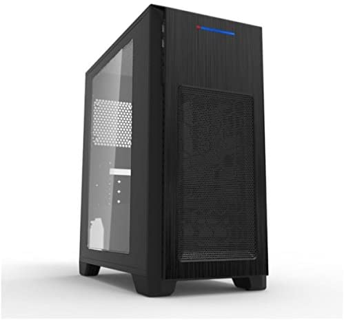 MS-TECH CA-0410 Mini Gaming Tower Micro ATX/Mini ITX black
