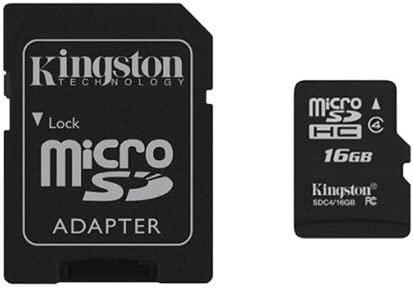 Kingston New High Quality 16GB MICRO-SD SDHC TF MEMORY CARD