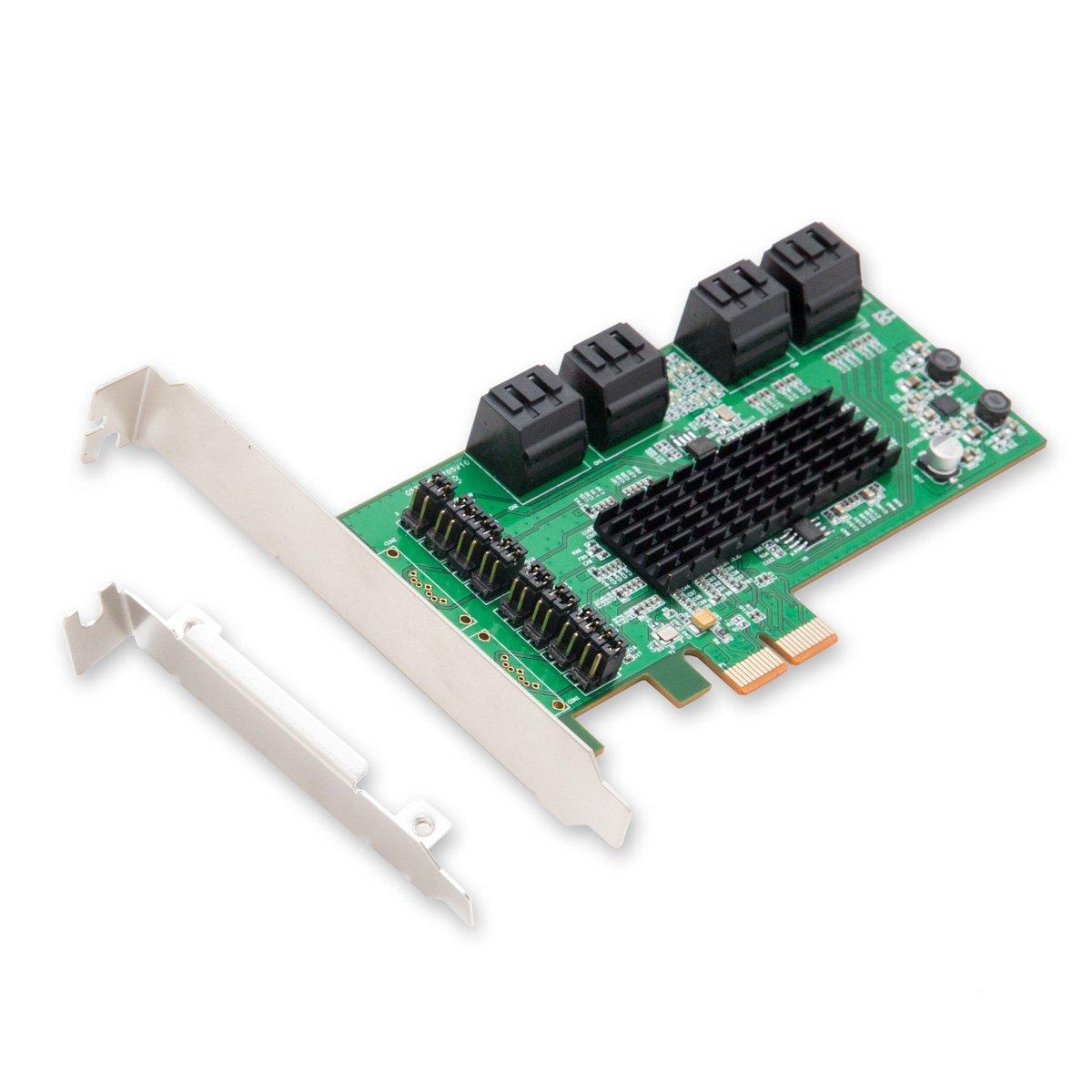 SYBA SI-PEX40071 Eingebaut SATA Schnittstellenkarte/Adapter