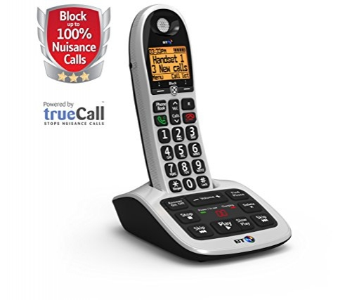 British telecom BT 4600 Single Handset DECT Telephone with Answering Machine Ref 55262