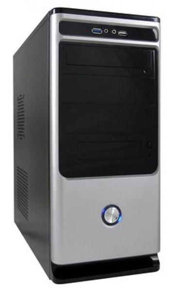 LC-Power LC-7010BS Computer-Gehäuse Midi Tower Schwarz, Silber 420 W