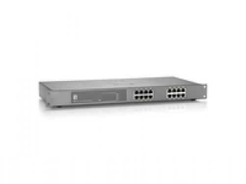 Level One LevelOne 16-Port-Gigabit Ethernet-PoE-Switch, 802.3at PoE+, 240W