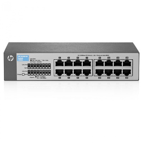 HP Hewlett Packard Enterprise V V1410-16 ungemanaged L3