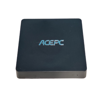 "ACEPC MiNi PC Windows 10 Pro (64-Bit) Intel Z8350 Prozessor lüfterlose Mini-Computer [4 GB DDR3 RAM / 64 GB eMMC ROM/ 2,5"" SSD/m SATA /Dual-Band WiFi /VGA HDMI /4K HD /"
