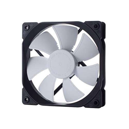 Fractal Design FD-FAN-DYN-X2-GP12-WT Computergehäuselüfter 12 cm Schwarz/Weiß