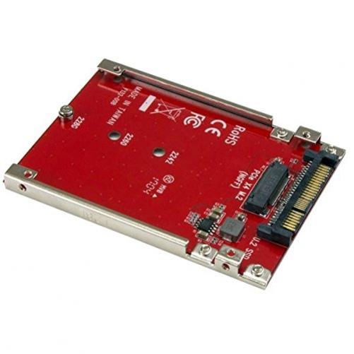 STARTECH.COM M.2 auf U.2 Adapter - für 1xM.2 NVMe SSD-U.2 SFF-8639 Host Interface - SSD M.2 -NVME M.2 SSD - M.2 PCIe SSD - M.2 Drive