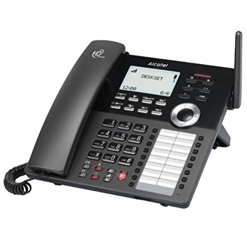 alcatel IP30 DECT Desktop Phone schwarz - Voice-Over-IP - Voice-Over-IP, ATL1417211 - Plug-Type C (EU)